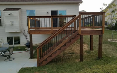 Deck Refinishing And Staining St. Louis, MO.
