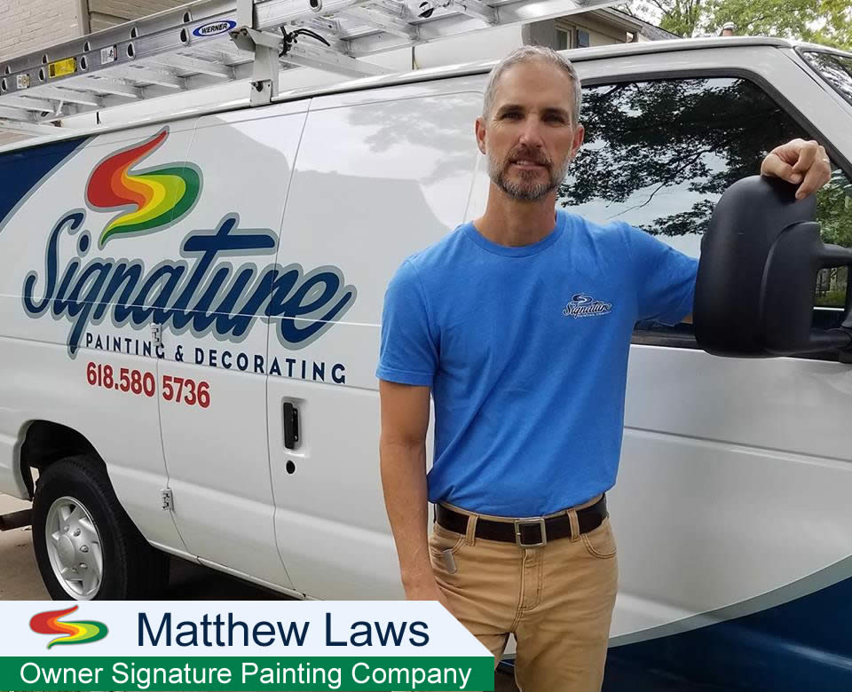 Matthew Laws Owner Of Signature Painting Company
